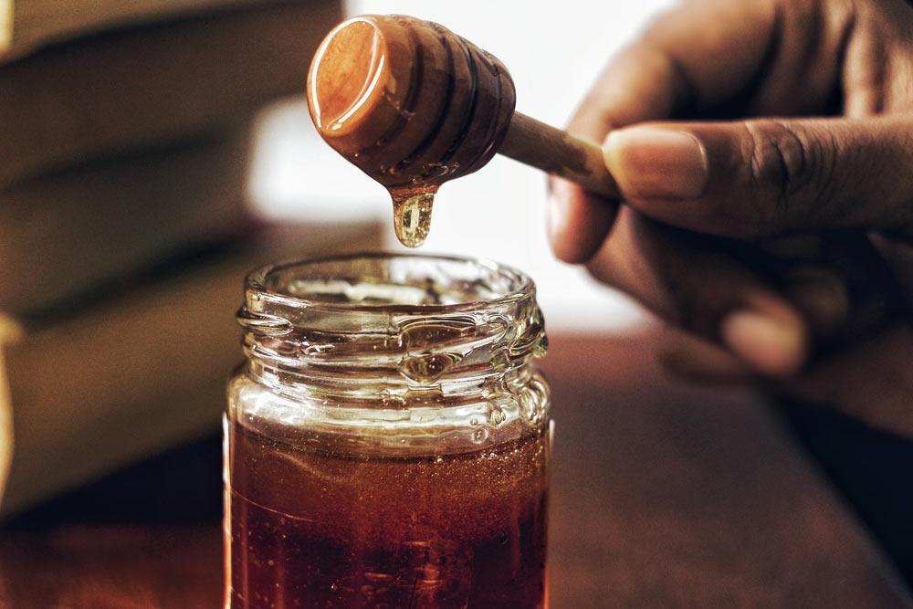 cómo hacer sangre falsa con miel