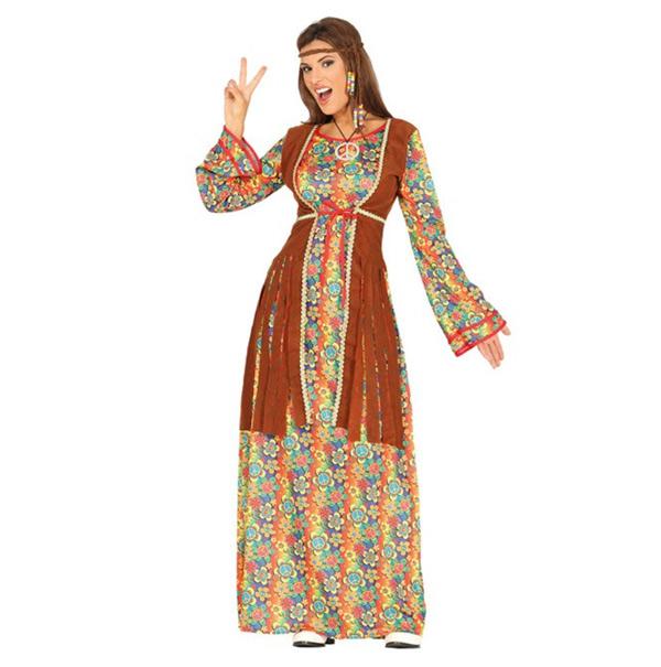 vestido hippie mujer