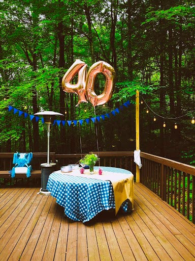 fiesta sorpresa de 40 cumpleaños