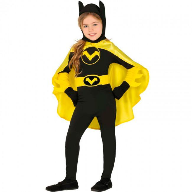 disfraz de batman niña