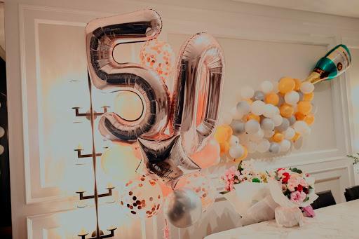 decoración 50 cumpleaños