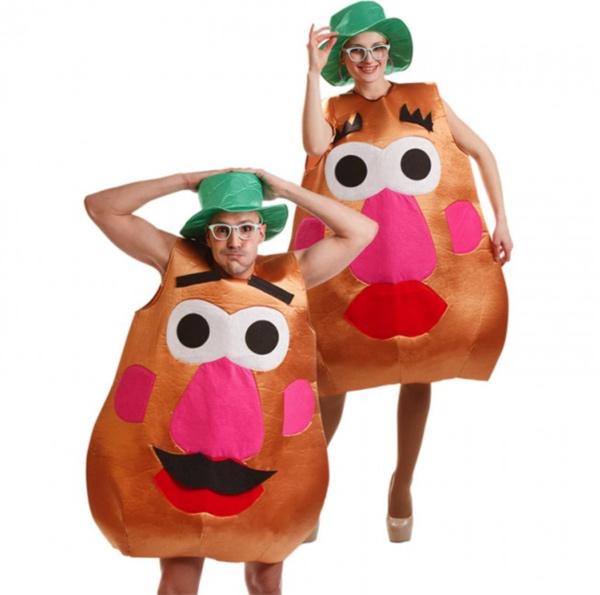 disfraz señor y señora potato