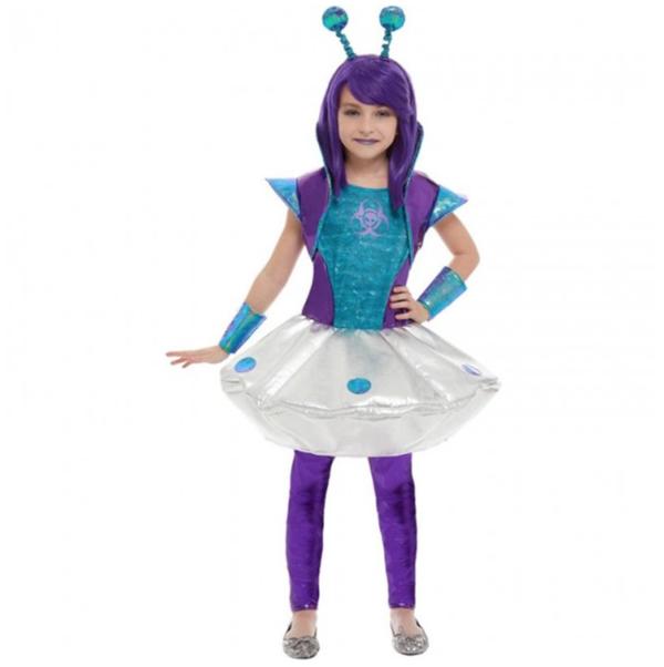 disfraz alienígena niña