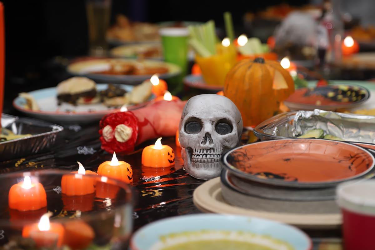Ideas de platos para una cena de Halloween terrorífica